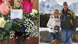 Même après sa mort, un Américain continue d'envoyer des fleurs à sa