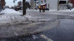 Bris d'aqueduc à Montréal : c'est