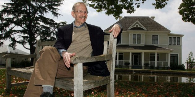 FILE - In a April 27, 2006 file photo, Pulitzer Prize winning poet Philip Levine is shown at the San...