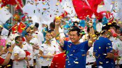 JO2022 à Pékin: une joie très orchestrée dans les rues