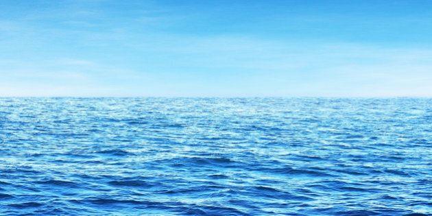 blue sunny sea water