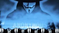 Anonymous revendique une attaque du site de la