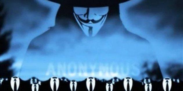 Le collectif Anonymous revendique une attaque du site web de la