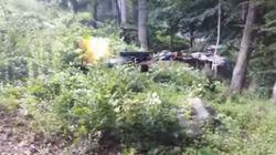 Une vidéo montre un drone équipé d'un