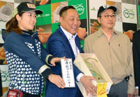 Le prix des fruits au Japon peut s'envoler, la preuve avec ces melons vendus plus de 15 000