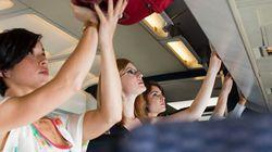 Air Canada compte vérifier les dimensions des bagages à