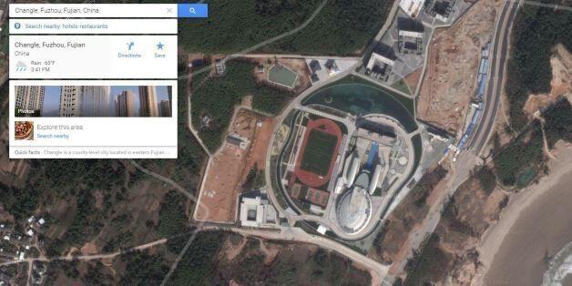 En Chine, un chef d'entreprise fait construire son bâtiment à l'image du vaisseau spatial de Star