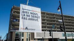 L'Ilôt Voyageur: nouveau panneau publicitaire à la