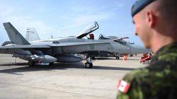 Les CF-18 frappent un repaire des extrémistes en