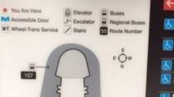 La carte du métro de Toronto en forme de pénis jugée