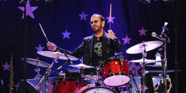 Ringo Starr and his All Starr Band performs at the Broward Center for the Performing Arts on October...