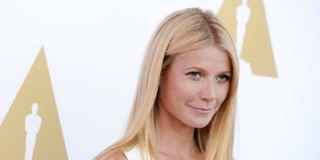Actress Gwyneth Paltrow attends the Academy of Motion Picture Arts and Sciences private luncheon and viewing of the