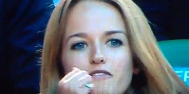 La copine d'Andy Murray, Kim Sears, insulte Tomas Berdych en plein