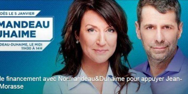 Cocktail de financement: Nathalie Normandeau et Éric Duhaime réunis pour appuyer Jean-François