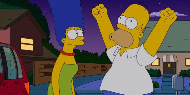 THE SIMPSONS: Homer and Marge discover what really is going on with Marge's new car in the all-new 'Adventures...