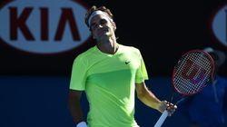 Roger Federer terrassé aux Internationaux
