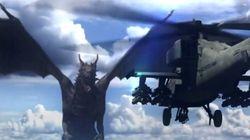VIDÉO: Le Smithsonian a imaginé un combat entre... un dragon et un