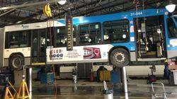 Moins d'autobus quand il fait froid, une impression?
