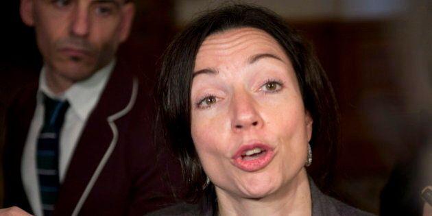 Martine Ouellet souhaite une campagne