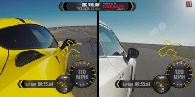 Nissan GT-R Nismo contre Chevrolet Corvette Z06 : qui gagne?