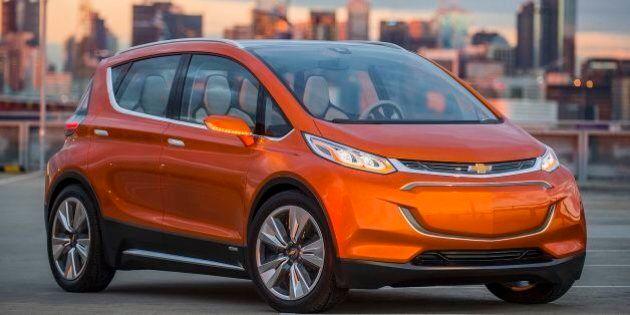 GM lance la production de sa Chevrolet Bolt électrique