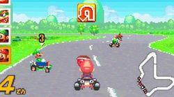 Jouer à Super Mario Kart... sur écran