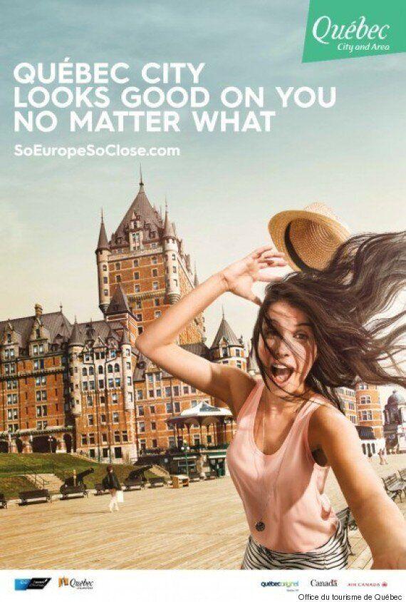 Tourisme: la ville de Québec tente de séduire les jeunes branchés avec des selfies ratés
