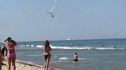Une collision entre deux avions fait un mort lors d'une démonstration aérienne