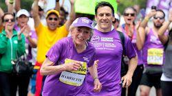 Elle boucle un marathon en 7 heures... à l'âge de 92 ans