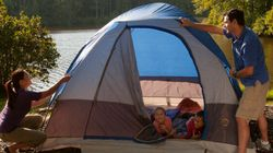 Trop compliqué le camping avec des enfants?