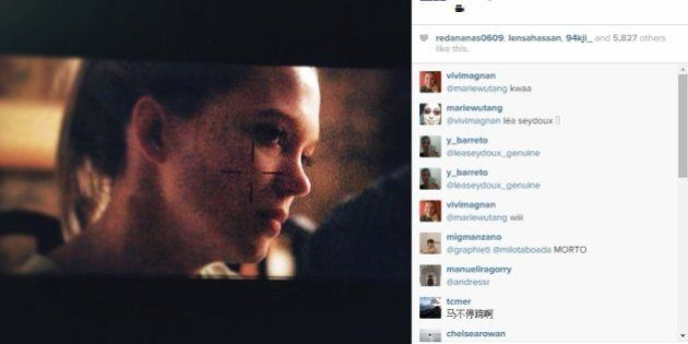 Xavier Dolan dévoile une photo du tournage de son film «Juste la fin du monde» sur
