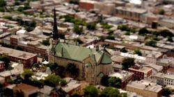 Cette vidéo donne à Québec l'apparence de jouets
