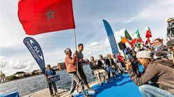 Le Marocain Amine Bouizgaren élu surfeur de l'année au Danish Surf