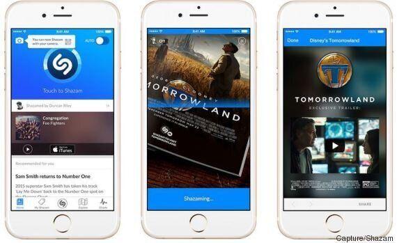 Shazam se lance dans le monde de l'image (et de la