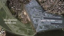 Projet de parc entre les ponts Champlain et
