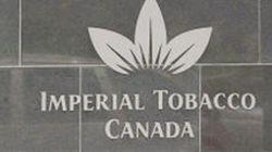 Imperial Tobacco conteste l'interdiction de vendre des cigarettes au