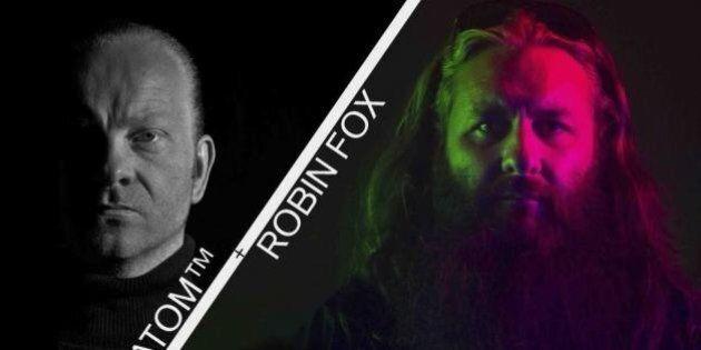 MUTEK 2015: Le duo Atom & Robin Fox présente Double