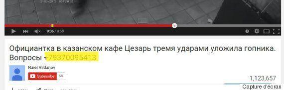 La vidéo virale d'une serveuse russe se défendant face à un client était un
