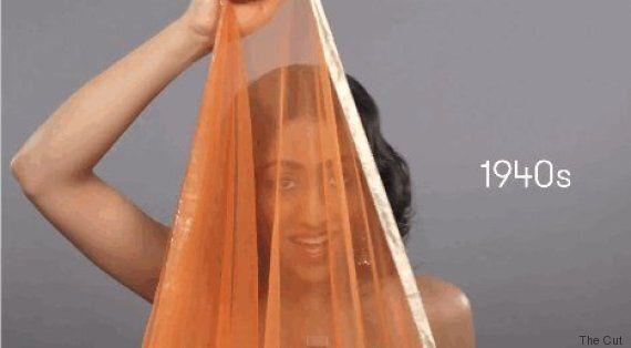 100 ans de beauté indienne en 1 minute