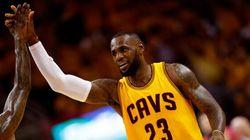 NBA: LeBron James ramène les Cavaliers en