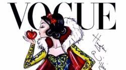 Deux artistes imaginent les princesses de Disney en Une du