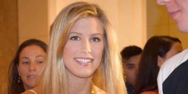 Eugenie Bouchard at the IMG@23 Players' Party at