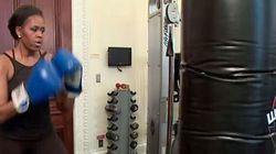 Dans sa lutte contre l'obésité, Michelle Obama a du «punch»