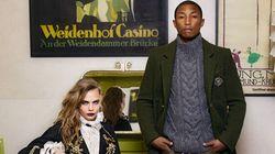 La nouvelle campagne de Chanel met en vedette Pharrell Williams et Cara