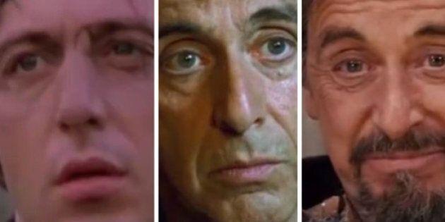 L'évolution du visage d'Al Pacino: 43 ans de carrière en 90 secondes
