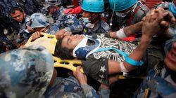 Deux survivants sont retrouvés au Népal, cinq jours après la catastrophe