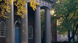 Sexe et amour à l'université: Harvard n'est pas une