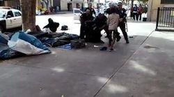 Mort d'un itinérant: la police de Los Angeles sur la