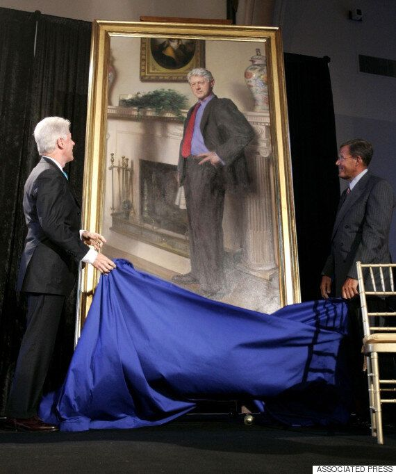 États-Unis : l'ombre de Monica Lewinsky dans un portrait de Bill