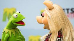 Peggy et Kermit se